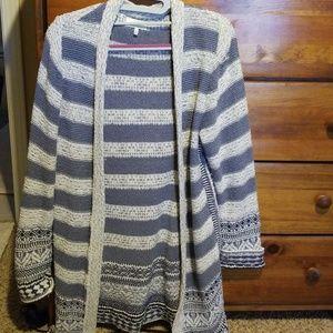 Super cute lucky cardigan sweater